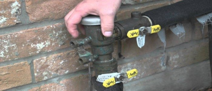 How to Drain a Sprinkler System for Winter
