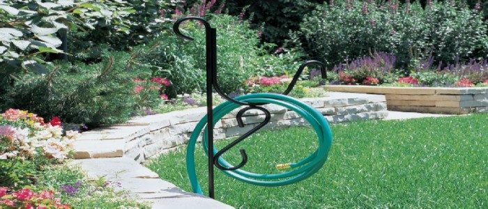 best rated free standing hose hangers