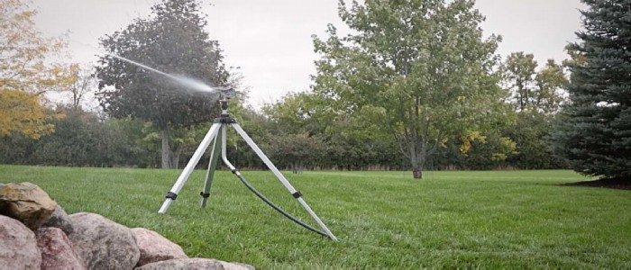impact sprinkler on tripod