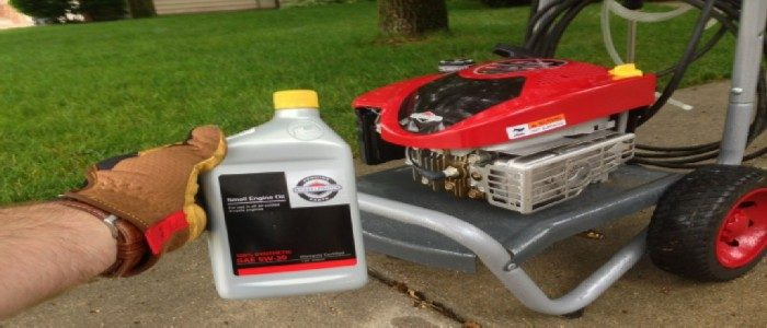 what kind of oil goes in a lawn mower